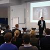 Mario Cristiano verdeutlichte die wichtigsten Skills für die jungen Führungskräfte