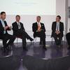 Die abschliessende Podiumsdiskussion mit Mario Cristiano, Jens Kröger, Frank Bayer, Gerald Penner, Adrian Dietrich