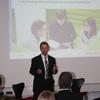 Jens Kröger brachte die Beispiele aus der Praxis - wie sieht der Weg einer Führungskraft aus?